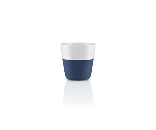 Eva Solo 5706631162852 2 Espresso-Becher 80 ml, Porzellan, Navy blau, 6 x 6 x 6 cm