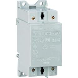 Friedland Bell transformer Doorbell transformer D780 8V/AC, 1A White220 -240 V/50 Hz