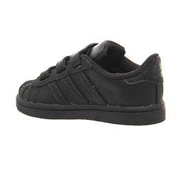 Adidas B23637 Basketball-Schuhe, Unisex, für Kinder Schwarz