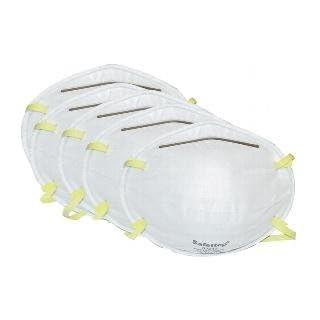 Atemschutz Staubmaske, Schutzklasse FFP1, 5er-Pack