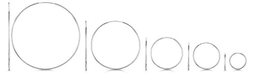 Amberta® 925 Sterling Silver Fine Circle Endless Hoops – Polished Round Sleeper Earrings Diameter Size: 20 30 40 60 80 mm (80mm)