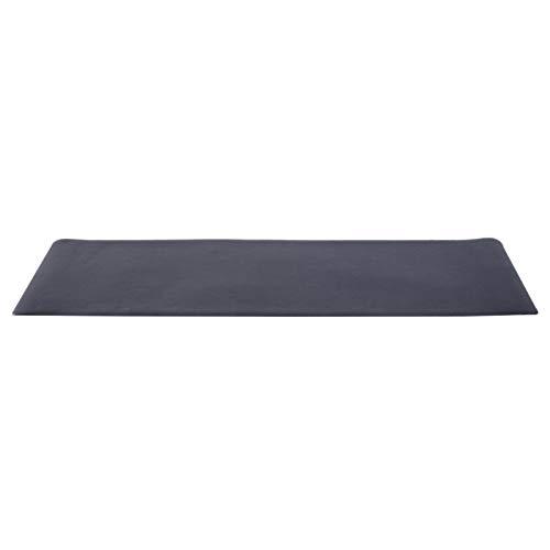 HOMCOM Esterilla para Aparatos de Entrenamiento Alfombra de Fitness Cinta de Correr Yoga Gimnasio Protectora de Suelo 4mm 170x75cm