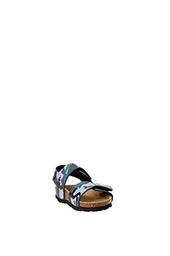 Grünland LUMIERE SB0181 bleu militaire 24/30 Birk larmes sandales bébé Blu