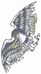 Tattoo Vintage Eagle 1910 (Kostüme 1910)