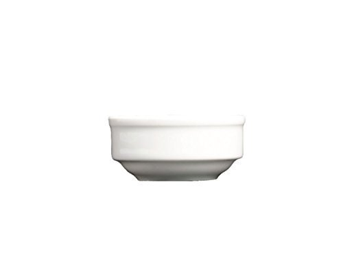 Nextday Catering Equipment Supplies nev-305606 Royal Mostaza/mantequilla/Salsa Plato (Pack de 12)