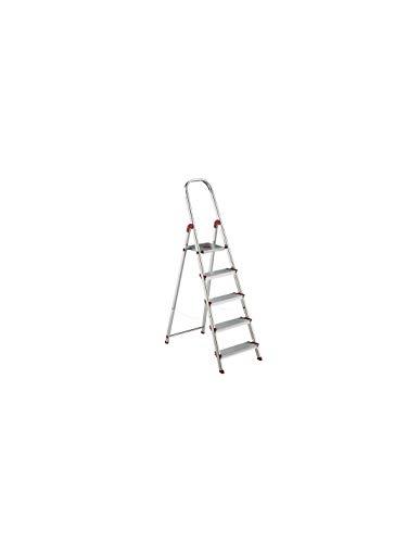 Escalera Rolser Aluminio Norma 220 5 Peldaños anchos