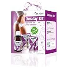 Dimaday kit per l'equilibrio del peso corporea, contiene Dimaday Destock 500ml+Dimaday Slim 15 cpr+Dimaday Sugar Control 30 cpr