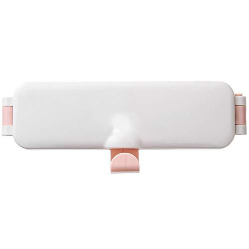 Supports pour papier toilette Rangement multifonctionnel toilettes toilettes poinçonnage gratuit rack de stockage pliage lavabo étagère en plastique Poudre
