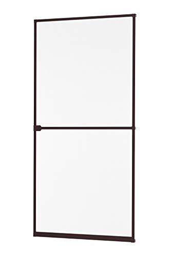 Insektenschutz Fliegengitter Tür Alurahmen START in weiß, braun oder anthrazit 100 x 210 cm