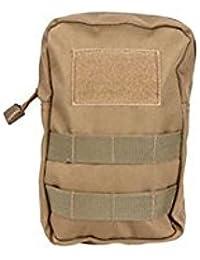 Tradico® Portable Outdoor Sports Tactical Bag 1000D Nylon Pouch Waist Pack (Khaki)