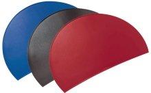 Läufer 49776 Durella Rondo Schreibtischunterlage, halbrund, rutschfeste Schreibunterlage, schwarz,...
