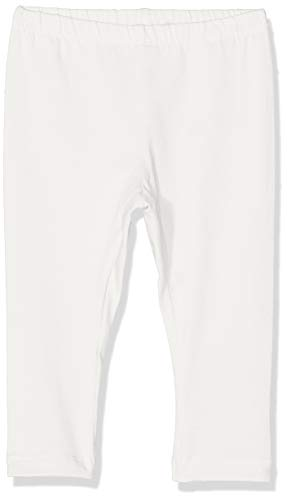 Name IT NOS Unisex Baby Leggings NBNDELUFIDO, Weiß (Snow White), (Herstellergröße: 68)