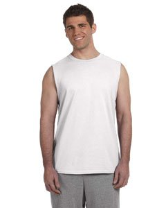 Gildan Men's Ultra Hemmed Satin Label Jersey Knit T-Shirt -