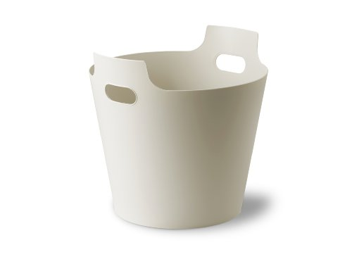 Authentics Panier Polyvalent 2hands2, Corbeille avec Poignées, 20 L, Blanc-Gris, Plastique, 1034281