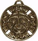 Glücksbringer/Amulett/Talisman/Symbol/Schmuck: Indianischer SEELE DES SONNENGOTTES Anhänger (Optimismus) mit Weiheanleitung