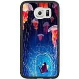 Hard Snap-On Protective Case for Samsung Galaxy S6 Edge [JFALOJLJ52407] CUSTOM FINDING NEMO THEME Samsung Galaxy S6 Edge Case - Black