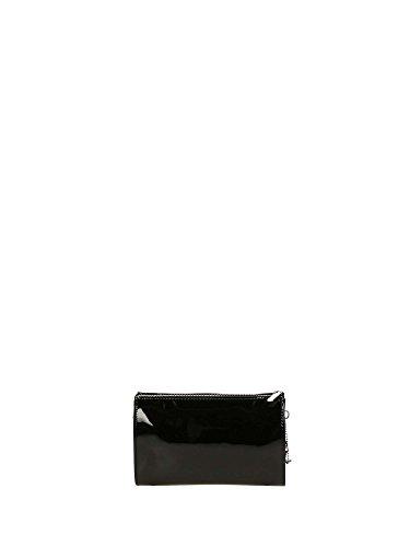 ARMANI JEANS Damenhandtasche mit Schulterriemen 05V82 RJ 12 Nero