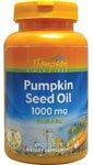 Aceite de semilla de calabaza, 1000 mg, 60 cápsulas blandas - Thompson