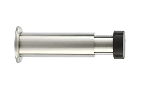 EVI Herrajes 040182TPRAM I-182 Wandstopp, Schwarzer Gummi, 88mm-120mm -