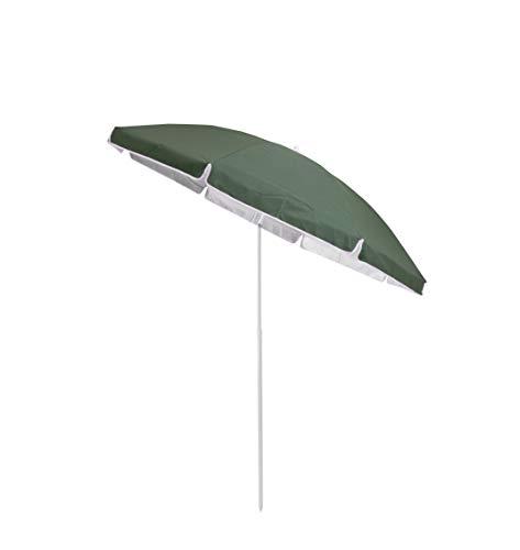 Duhome Sonnenschirm Strandschirm Polyester Grün höhenverstellbar neigbar Gartenschirm Wasserabweisend mit Tasche Farbauswahl GB1800