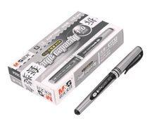 Magicdo® Lot de 12stylos à encre gel à base d'eau, 1,0mm de grands traits, Signature Pen, êtes Plus Obligé d'écriture, prise en main confortable, 3Cols-black, Rouge, Bleu