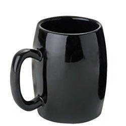 Schwarz Ersatz Kaffeemaschine (PTC Ersatztasse Keramik, schwarz)