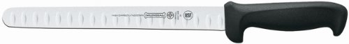 Mundial 5627-10GE 10-Inch Hollow Edge Slicing Knife, Black Slicing Knife