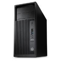 HP Z240Torre Workstation Core i7(6700) 3.4GHz 8GB 256GB SSD, Windows 7Pro 64bit LAN Masterizzatore DVD + Media aggiornamento a Windows 10Pro (HD Graphics 530)