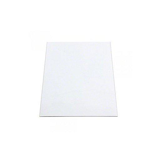 First4magnets MFLA4(GWD)-1 Flexible A4 magnetisch pfändbare Whiteboard-Blatt (297 x 210 x 0,76 mm) (1 Packung), silver, 25 x 10 x 3 cm
