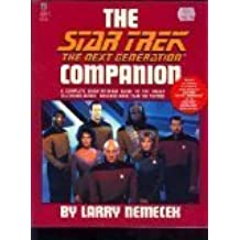 The Star Trek, The Next Generation Companion by Larry Nemecek (1992-11-01)