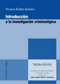Introducción a la investigación criminológica ( 3ª ed.)