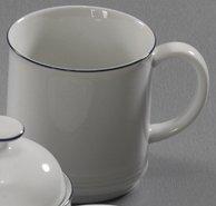 Friesland Porzellan Jever Pays Petite Brise Mug avec Anse, empilable, 0,25 l