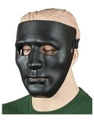 Militar-TLD Mascara Proteccion PVC NEGRO Paintball Máscara Cráneo Táctico Militar Protector Envio Desde España