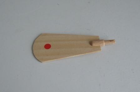 Ersatzteile für Pyramiden Flügel-Nr. 70011 rot gepunktet NEU Zubehör Holz