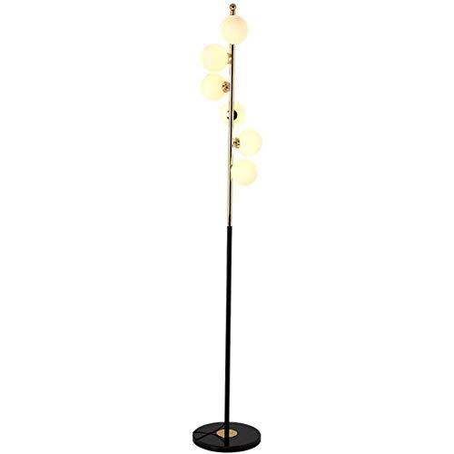 XDLDD Nordic Led Stehlampe Post Moderne Kreative Schlafzimmer Studie Einfache Wohnzimmer Lampe Nacht Mode Stehlampe Kristall Stehlampe,B, -