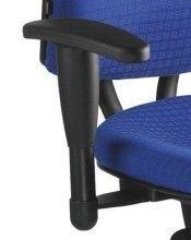 Preisvergleich Produktbild Armlehnen K2 höhenverstellbar (Paar) für Bürodrehstuhl ALUSTAR Basic schwarz Armlehnen K2 höhenverstellbar (Paar) für Bürodrehstuhl ALUSTAR Basic schwarz
