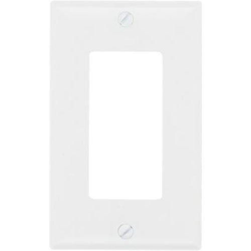 Legrand-Pass & Seymour SP26WUCC100 Wall Plate One Gang Decorator Easy Installation, White by Legrand-Pass & Seymour Wall-plate 1 Gang