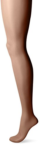 Hanes Silk Reflections Sheerest Support Control Top Sheer Toe EF Brown (Beige Sheer Socken)