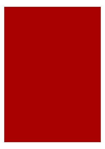 das-label DIN A4 selbstklebende Vinylfolie dunkelrot | INDOOR matt | zum Basteln Scrapbook | Vinylfolie zum Einlegen in Plotter | Sticker | Aufleber | geeigent auch für Autoaufkleber | Markierungspunkte