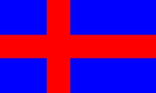 magFlags Flagge: Large Oldenburg Scandinavian Cross   Civil Flag of Oldenburg 1774?1919   Querformat Fahne   1.35m²   90x150cm » Fahne 100{8bc1c8162eca8fe50b0d1b7fc0c4f21c4f73aa3ff3db2c780812c660263808b3} Made in Germany