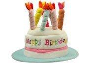 Lustiger Geburtstags Hut HAPPY BIRTHDAY - Mit Kerzen... (Lustige Hüte)