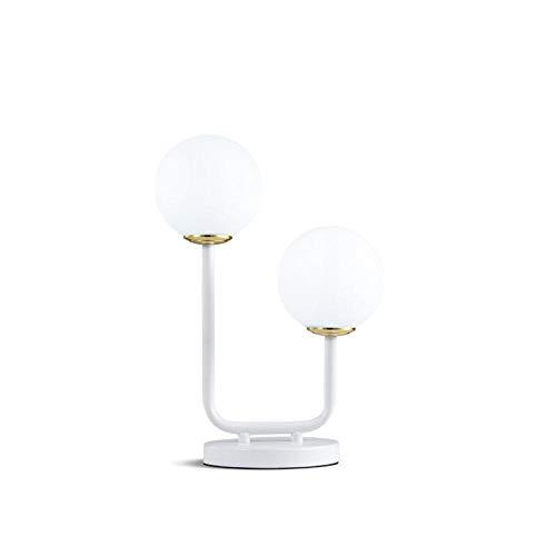 Leselampe Nachttischlampe Tischlampe Schreibtischlampe Tischleuchte Nordic Modernen Minimalistischen Wohnzimmer Student Schreibtisch Schlafzimmer @ T17023S2Wc-Wh Weißes Licht -