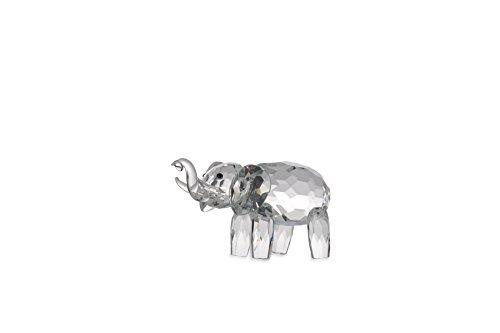 Cristal Figura Elefante de 10cm de figura decorativa en caja de rega