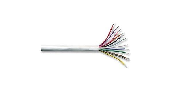 8 core white burglar alarm cable