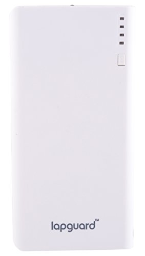Lapguard Solo-1560 Power Bank 15600 mAh Make In India portable charger Powerbank - White-Gry  available at amazon for Rs.999