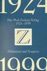 Der Paul Zsolnay Verlag 1924 bis 1999