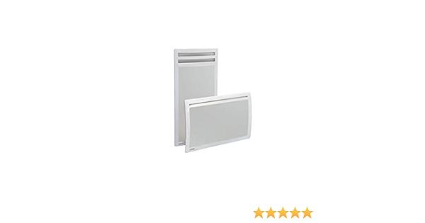 radiateur rayonnant applimo 0011485fd applimo quarto d+ 1500 watts horizontal blanc