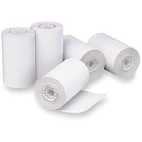 Rotolo cassa carta termica, 3x 225', 24/CT, Bianco–Venduto come 1ct–Rotoli per registratore di cassa/ATM offerta (Atm Macchina)
