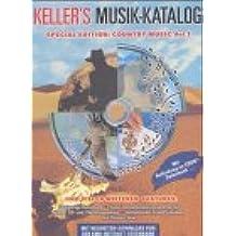 Keller's Musik-Katalog, Special Edition, Country Music, 1 CD-ROM Für Windows 95/98/ME/NT/2000. Tonträgerverz., Musikverwaltung, Cover-Ausw., Lexikon, Internet-Datenbanken, Service-Funktionen