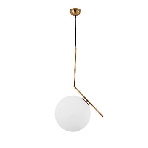YOZOOE Personalisierte Nachttisch-Kandelaber und Mini-Nachttischlampen Luxus-Kreativ-Kronleuchter mit nordischer Pendelleuchte, hängende Beleuchtung Laternenlampen (Größe: Durchmesser 20 cm) -